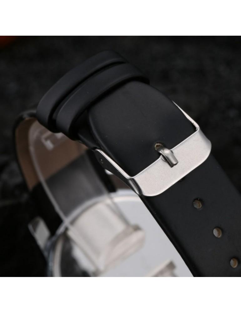 DUOYA XR1565-S Women Simple Leather Band Analog Quartz Wrist Watch
