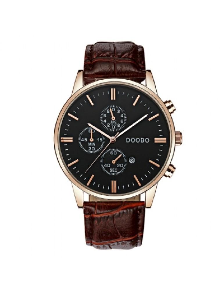 DOOBO D012 4747 Fashion Popular Band Quartz Men Watch with Box
