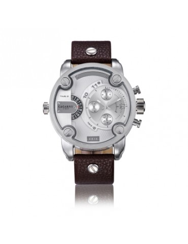 CAGARNY 6818 Decorative Sub-dials Male Quartz Watch