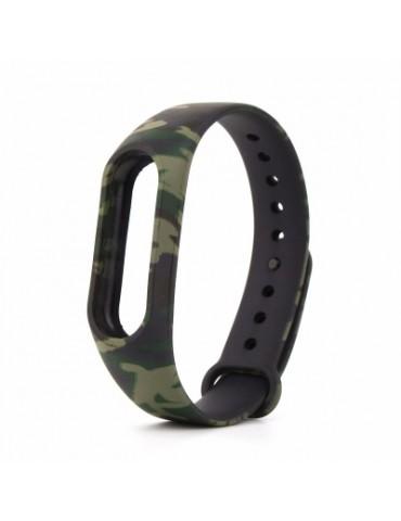 Camouflage Pattern Watch Strap for Xiaomi Mi Band 2