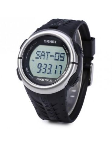 SKMEI 1058 3D Pedometer LED Sports Watch