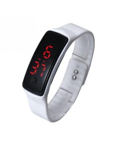 V5 Fashion LED Digital Watch Children Silicone Wristwatch